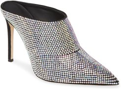 Crystal Embellished Mule
