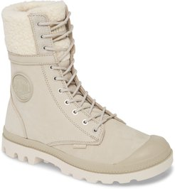 Baggy Pilot Faux Shearling Lined Boot