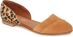 Jutti D'Orsay Genuine Calf Hair Flat