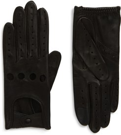 Lambskin Leather Driving Gloves