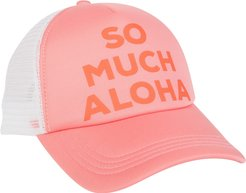 Across Waves Trucker Hat - Pink