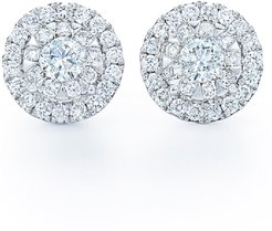 'Sunburst' Diamond Stud Earrings
