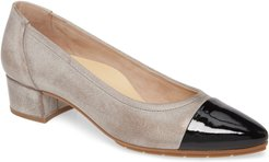 Chrissy Cap Toe Pump
