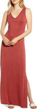 Ansel Tie Back Jersey Maxi Dress