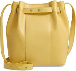 Naples Leather Shoulder Bag - Yellow