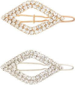 Tasha 2-Pack Crystal Hair Clips