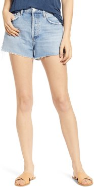 Parker Cutoff Organic Cotton Denim Shorts