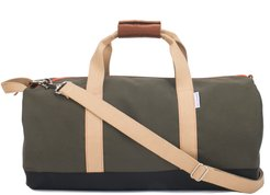 Work Hard Play Hard Duffle Bag - Green