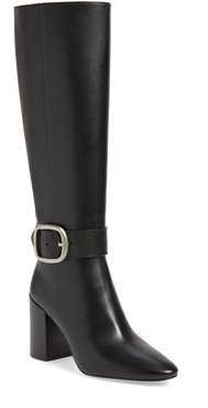Evelyn Knee High Buckle Boot