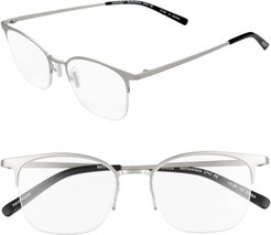 Bottomless 52Mm Reading Glasses - Silver Matte