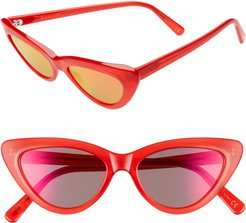 A-Muse 52Mm Sunglasses - Amuse Candy Red Flash