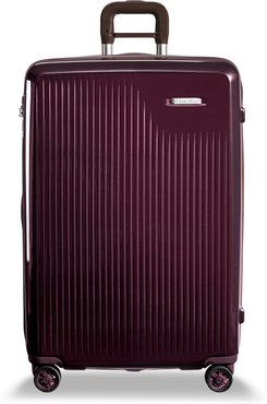 Sympatico 30-Inch Expandable Wheeled Packing Case - Purple