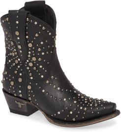 Sparks Fly Studded Short Western Boot