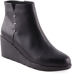 Tulip Water Resistant Wedge Bootie