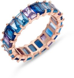 Ombre Eternity Ring