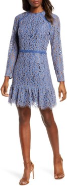 Alicia Long Sleeve Lace Cocktail Dress