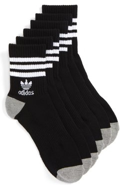 3-Pack Quarter Crew Socks