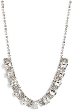 Crystal Pave Frontal Necklace