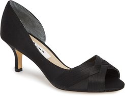 Contesa Open Toe Pump