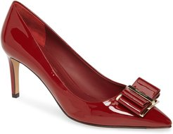Zeri Bow Pointed Toe Pump