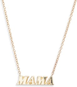 Mama Name It Necklace