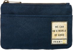 X National Geographic Zip Pouch - Blue