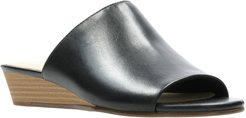 Clarks Mena Rose Slide Wedge Sandal