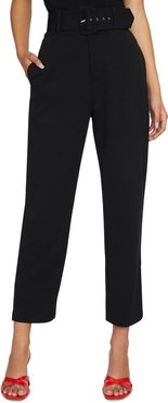 The Curator Belted Ankle Pants