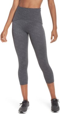 Spanx Active Print Crop Leggings