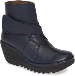 Yedd Wedge Bootie