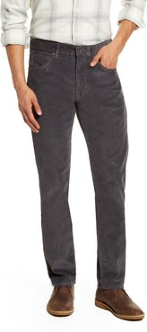Straight Fit Corduroy Pants
