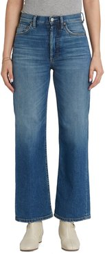 The Mikey High Waist Ankle Straight Leg Jeans