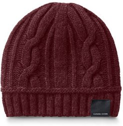 Cable-Knit Toque Beanie Hat