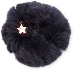Sheared Rabbit Fur Scrunchie