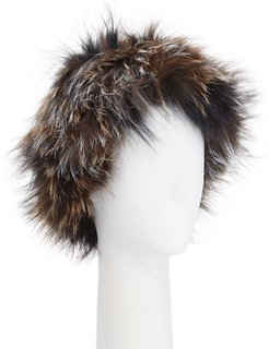Fox Fur Knit Headband