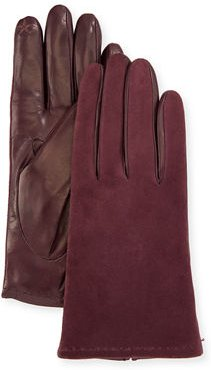 Suede & Napa Leather Gloves