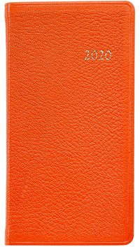 2020 Leather Pocket Datebook