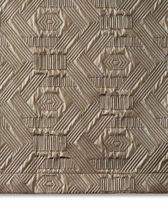 Metallic Quilted King Sham