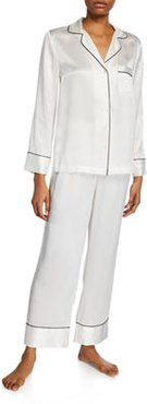 Basic Silk Satin Pajama Set
