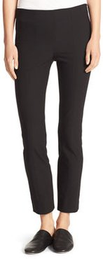 Stitch-Front Seam Leggings