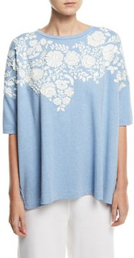 CLASSIC RELAXED BIG TEE WFLO