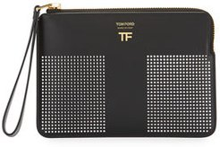 Graphic T Clutch Bag