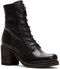 Karen Combat Lace-Up Booties