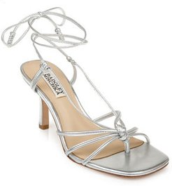 Jovial Ankle-Tie Sandals