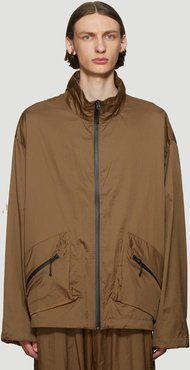 Light Track Jacket in Brown size M