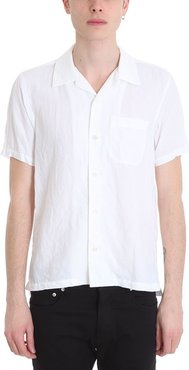 Line And Cotton White Shirt