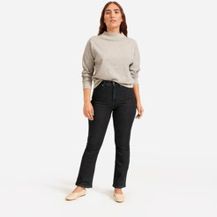 Authentic Stretch Skinny Bootcut by Everlane in Dark Blue Wash, Size 26