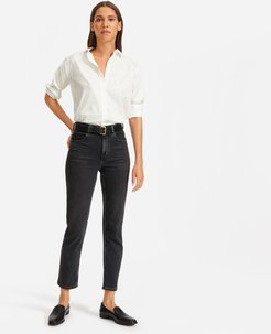 Cheeky Straight Jean by Everlane in Washed Black, Size 26