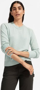 ReCashmere Vintage Crew Sweater by Everlane in Icy Fjord, Size M