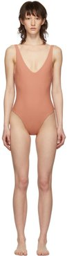 Pink Leticia One-Piece Swimsuit